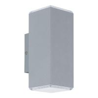 Aplica exterior Tabo 94186 Eglo, 2x3,7W LED, argintiu