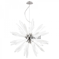 Candelabru Ideal Lux, CORALLO SP12 BIANCO 74689