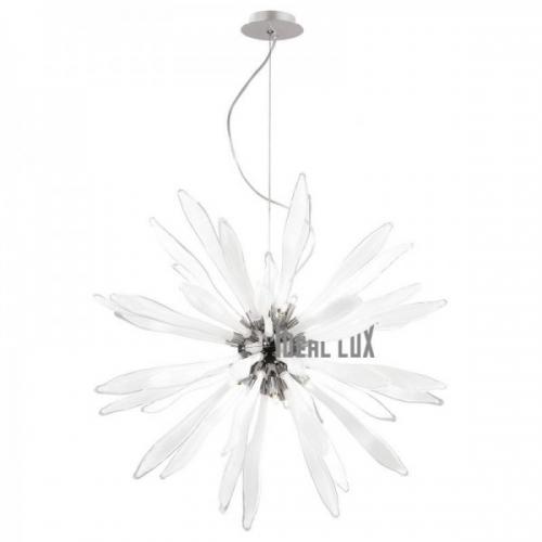 Candelabru Ideal Lux, CORALLO SP12 BIANCO 74689