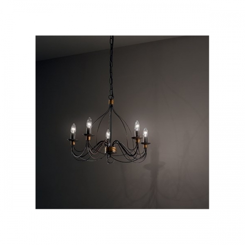 Lustra Ideal Lux, CORTE SP5 RUGGINE 57187