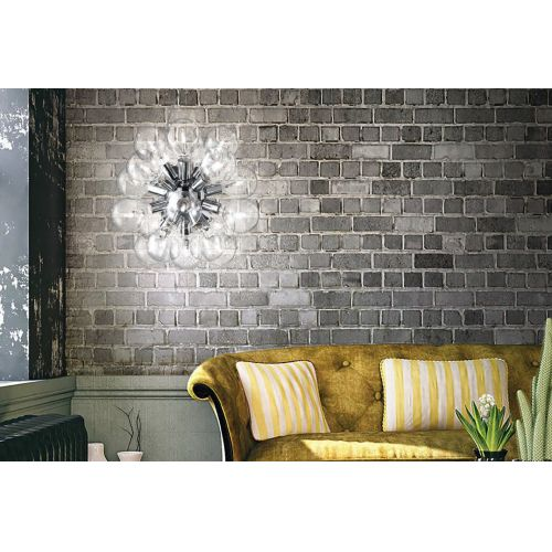 Lustra moderna living Ideal Lux, DEA SP12 74771, 12xE27, crom