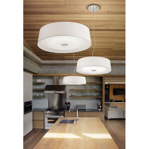 Lustra bucatarie Ideal Lux, HILTON SP4 75501, 4xE27, alba
