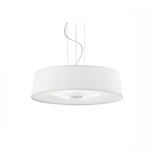 Lustra living Ideal Lux, HILTON SP6 75518, 6xE27, alba