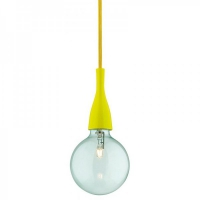 Pendul Ideal Lux, MINIMAL SP1 GIALLO 63621