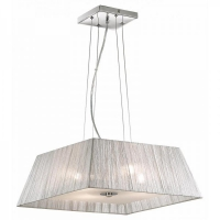Lustra Ideal Lux, MISSOURI SP4 ARGENTO 35932