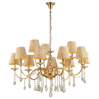 Candelabru Ideal Lux, PANTHEON SP12 ORO 88129
