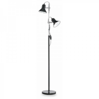 Lampadar  Ideal Lux, POLLY PT2 NERO 61139