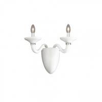 Aplica Ideal Lux, WHITE LADY AP2 BIANCO 19376