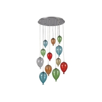 Suspensie Ideal Lux, CLOWN SP12 COLOR, 100951