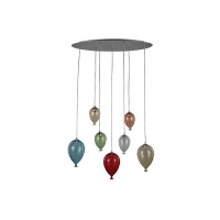 Suspensie Ideal Lux, CLOWN SP7 COLOR, 100937
