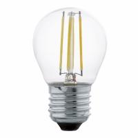 11498 Edison Vintage sferic E27-G45-LED FILAMENT, 4W, alb cald