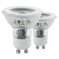 Bec LED GU10 11475 Eglo, COB 3,3W 3000K 2 buc