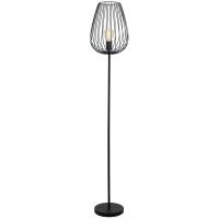 NEWTOWN 49474 Eglo, lampadar vintage 1xE27 negru