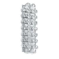 LONZASO 94316 Eglo, LED-aplica 6 crom/cristal
