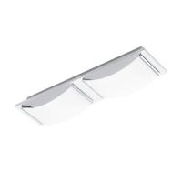 WASAO 94466 Eglo, LED-aplica plafoniera 2 crom/alb