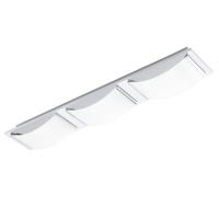 WASAO 94467 Eglo, LED-aplica plafoniera 3 crom/alb