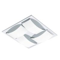 WASAO 94468 Eglo, LED-aplica plafoniera 4 crom/alb
