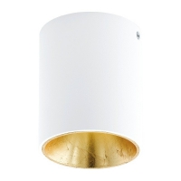 POLASSO 94503 Eglo, spot cilindric aparent LED D-100 alb/auriu