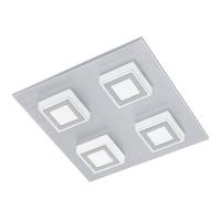 MASIANO 94508 Eglo, LED-aplica plafoniera 4 aluminiu slefuit