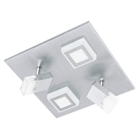 MASIANO 94512 Eglo, LED-aplica plafoniera 2+2 aluminiu slefuit
