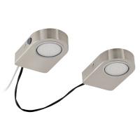 LAVAIO 94514 Eglo, LED-aparent 2 nichel-mat oval