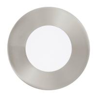 FUEVA 1 94518 Eglo, LED-spot incastrabil D-85 nichel mat 3000K