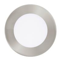 FUEVA 1 94521 Eglo, LED-spot incastrabil D-120 nichel 3000K