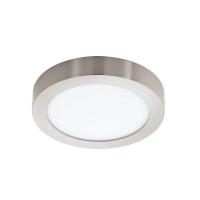 FUEVA 1 94527 Eglo, plafoniera LED D-300 nichel-mat 3000K