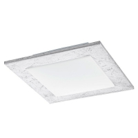 CIOLINI 94554 Eglo, LED-plafoniera argintiu/alb