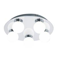 MOSIANO 94631 Eglo, LED-aplica plafoniera 5 crom/alb