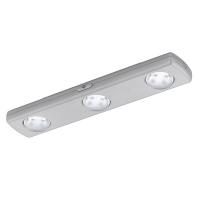 BALIOLA 94685 Eglo, aplica argintie 3x4LED-uri cu baterii