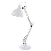 BORGILLIO 94699 Eglo, lampa de birou 1 E27 alb