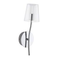 NOVENTA 94752 Eglo, LED-aplica 1 crom/transparent-alb