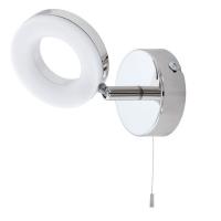 GONARO 94756 Eglo, LED-aplica lectura si oglinda 1 snur crom/alb