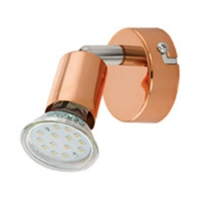 BUZZ-COPPER 94772 Eglo, lampa de citit GU10-LED cupru