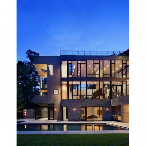 Aplica exterior Trosona 95105 Eglo, 12W-LED, argintiu, dreptunghiulara