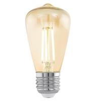 Edison Vintage 11553 Eglo, bec LED E27, ST48, 3.5W, chihlimbar 2200K