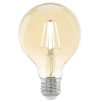 Edison Vintage 11556 Eglo, bec LED E27 G80 4W, chihlimbar 2200K
