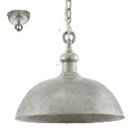 Pendul argintiu 1xE27 Easington 49181 Eglo, D-50cm