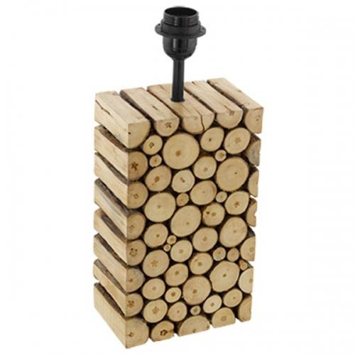 Baza de veioza 1xE27, H-385, lemn, Ribadeo 49833 Eglo