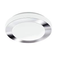 Plafoniera LED IP44 baie Carpi 95282, 11W, crom, 30cm