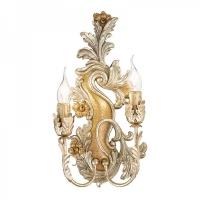 Aplica Ideal Lux Carmen AP2 93703 gold silver