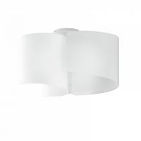 Plafoniera Imagine Vetro Bianco 3xE27 Max 60W