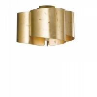 Plafoniera 3l Imagine Vetro Foglia Oro 3xE27 Max 60W