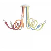 Lustra Lover Flessibile Siliconato Multicolor 6xE14