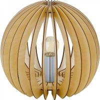 Veioza COSSANO 94953 TL/1 E27 lamele artar/alb