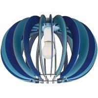 Plafoniera FABELLA 95948 DL/1 E27 lamele albastre