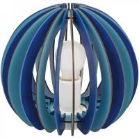 Veioza FABELLA 95951 TL/1 E27 lamele albastre
