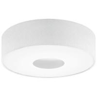 Plafoniera ROMAO 1 95328 LED D500 nichel mat/alb