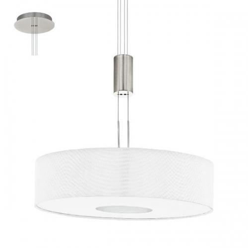 Lustra ROMAO 1 95331 LED D530 nichel mat/alb
